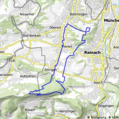 Bruderholz - Blauensingletrail - Bruderholz