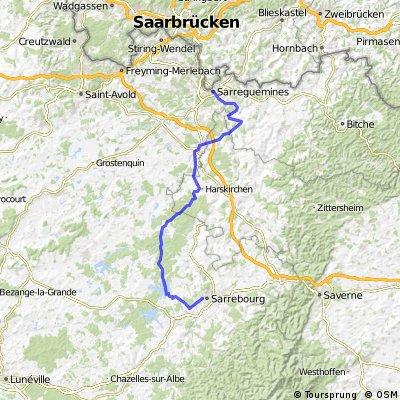 Saar-Elsass-Tour  - Tag 3