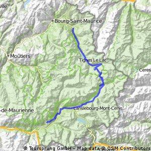 3a Etappe: Route des Grandes Alpes