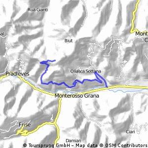 All Mountain Ollasca - rientro