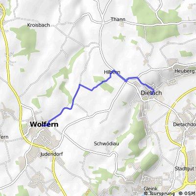 Wolfern - Dietach (Ortszentren, Umgehung von Hauptverkehrsstraßen)