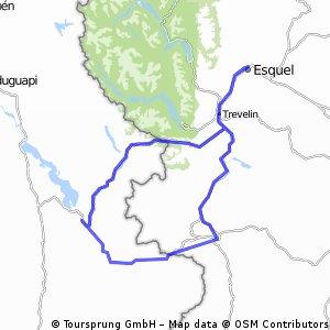 Doble cruce de los Andes por pasos Futaleufu y Río Encuentro