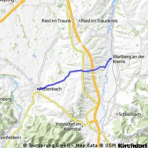 Pettenbach - Wartberg an der Krems (Ortszentren, Umgehung von Hauptverkehrsstraßen)