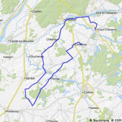 2EME BOUCLE GRAND PARCOURS 43 KMS