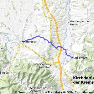 Pettenbach - Schlierbach (Ortszentren, Umgehung von Hauptverkehrsstraßen)