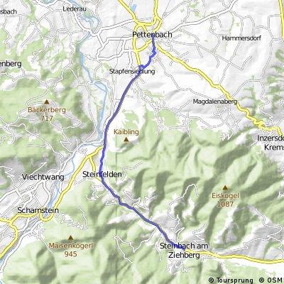 Pettenbach - Steinbach am Ziehberg (Ortszentren, Umgehung von Hauptverkehrsstraßen)