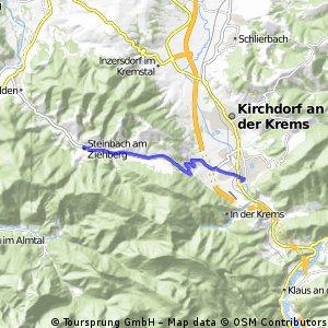 Micheldorf in Oberösterreich - Steinbach am Ziehberg (Ortszentren, Umgehung von Hauptverkehrsstraßen)