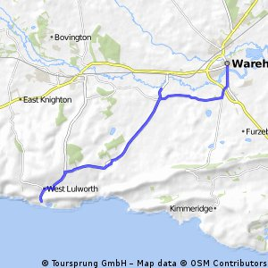 Wareham to Lulworth Cove