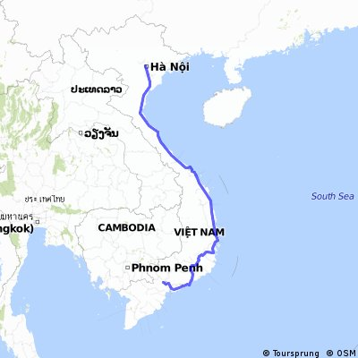 Vietnam / Da Hanoi a Saigon, Bici Hotel