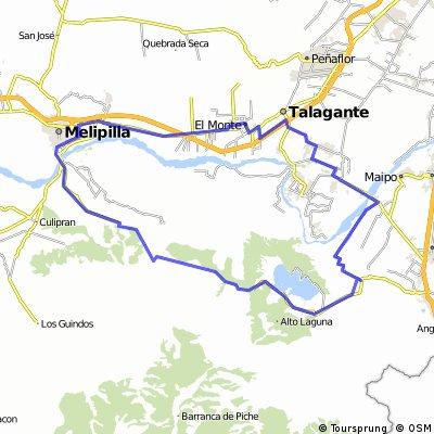 El Monte - melipilla - Cholqui - L.Aculeo - V.de Paine - I. Maipo - Talagante - El Monte