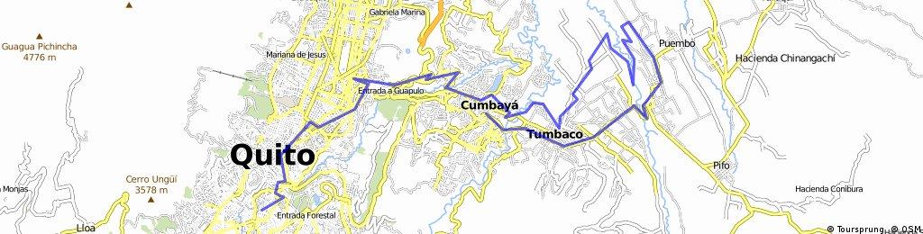 Chimbacalle-Cumbaya-Puembo-Cumbaya