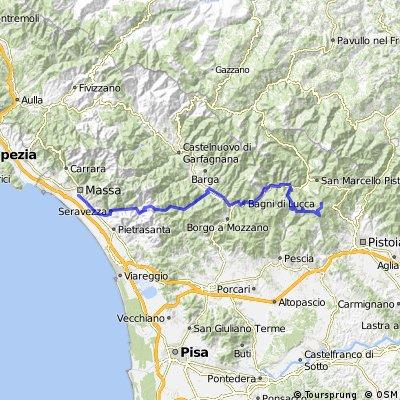 Tuscany Trail: da Massa a Prunetta