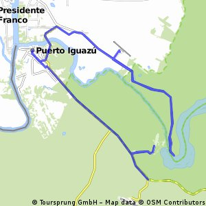 R: AP Foz do Iguacu - Cataratas BRA - Puerto Iguazu - Cataratas ARG