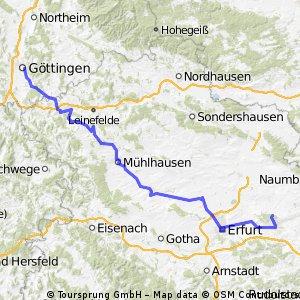 Göttingen - Weimar