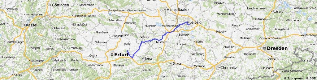 Weimar - Leipzig