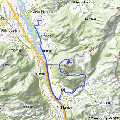 Tour de Kranzhorn - Abfahrt