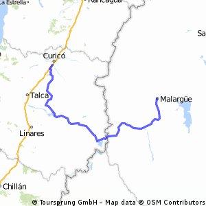 malargue- curicó (paso pehuenche)