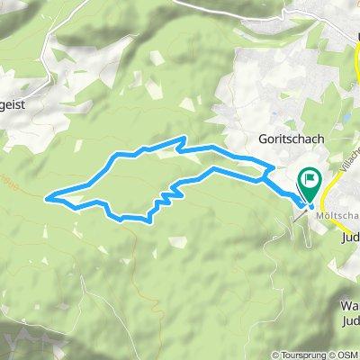 10,5 km Strecke