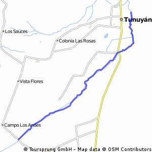 bajada consulta anfiteatro por río tunuyan