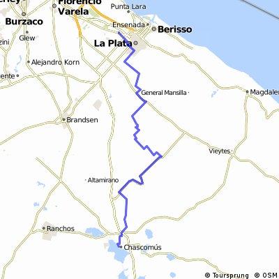 De Chascomus a La Plata