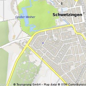 Short bike tour through Schwetzingen