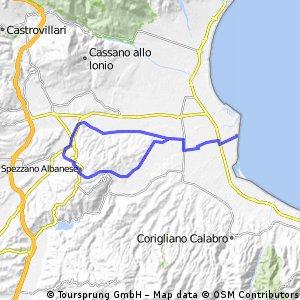 Camp-Spezzano Albanese 54-340
