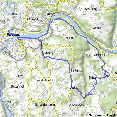 Passau - Esternberg - Passau