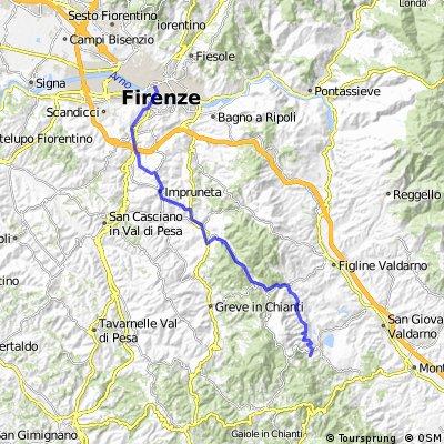 Firenze - Castelnuovo dei Sabbioni