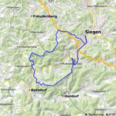 Rundtour bei Siegen