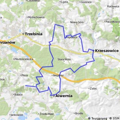 Krzeszowice trip