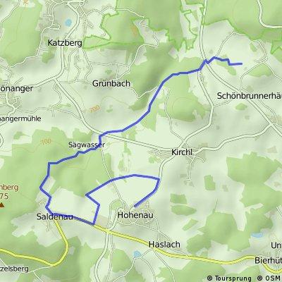 Themenwanderweg Hohenau
