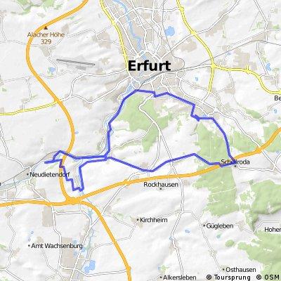 Radtour - Rund um den Steigerwald