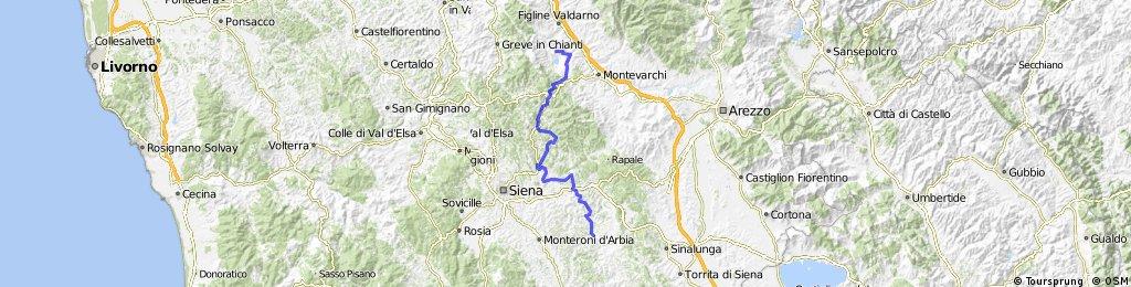 Meleto di Cavriglia - Badia Coltibono - Asciano