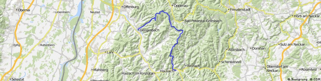 Gengenbach - Hausach