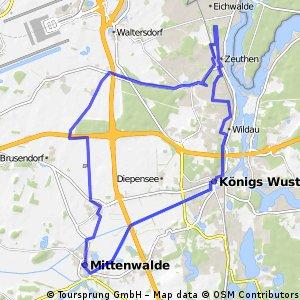 Mittenwalde 37km