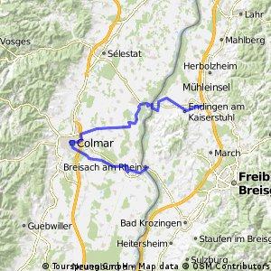 Riegel - Colmar - Breisach