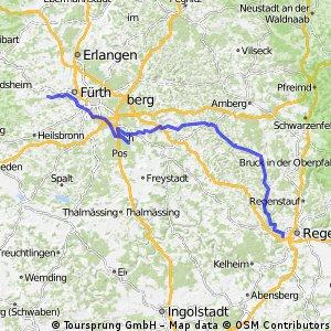 Cadolzburg-Regensburg