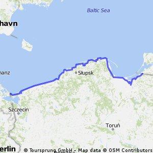 Entlang der polnischen Ost-See-Küste