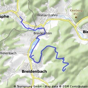 Vom Schwarzenberg nach Breidenstein
