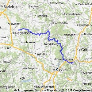 Paderborn - Witzenhausen