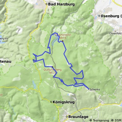 Brockentour-42.5km 2015-12-29