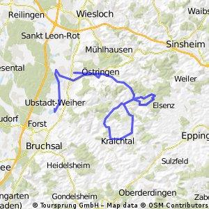 Kraichgau-Triathlon (1. Runde)