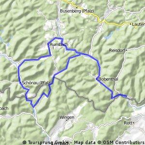 St Germanshof-Fleckenstein-Runde