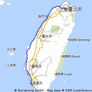 台灣半環島