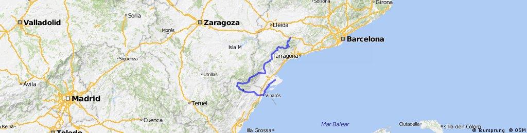 Ruta 11 España en bici