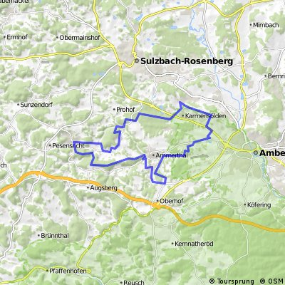 Poppenricht-Viehberg-Illschwang-Poppenricht