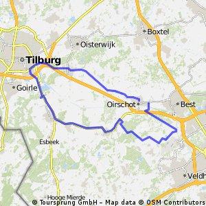 3-1-2016 (zo) Rondje Tilburg