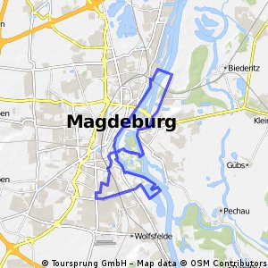 25km Trainingsrunde ab Magdeburg Reform