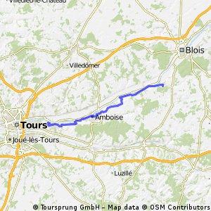 Muide sur Loire -- Chinon (Etape 2)