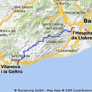 Cornellà - Monasterio budista del Garraf - Sitges